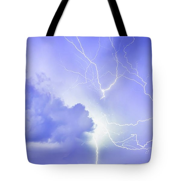 Fury Of The Storm Tote Bag