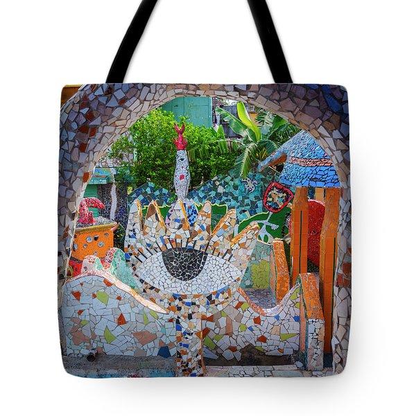 Fusterlandia Havana Cuba Tote Bag