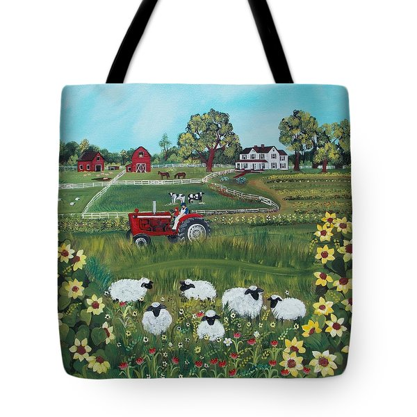 Future Farmer Tote Bag