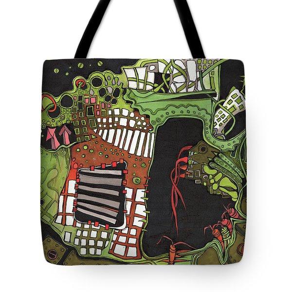 Future Gardening Tote Bag