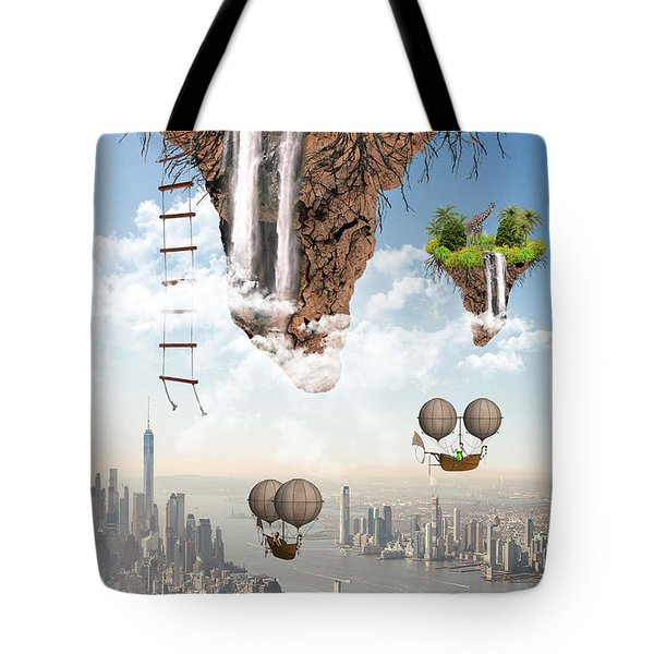 Future Idealism Tote Bag