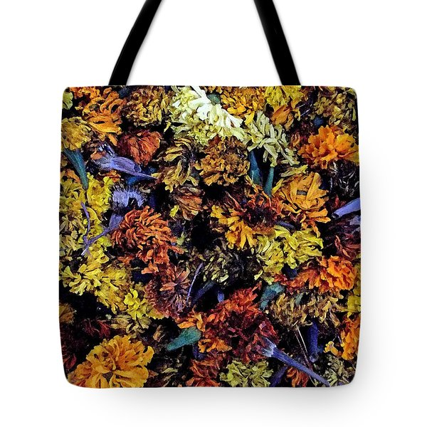 Future Marigolds Tote Bag