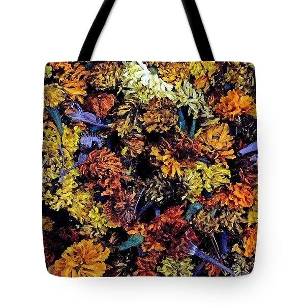 Future Marigolds Tote Bag