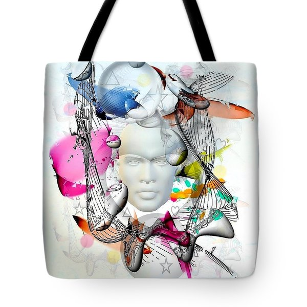 Future Of Life By Nico Bielow Tote Bag