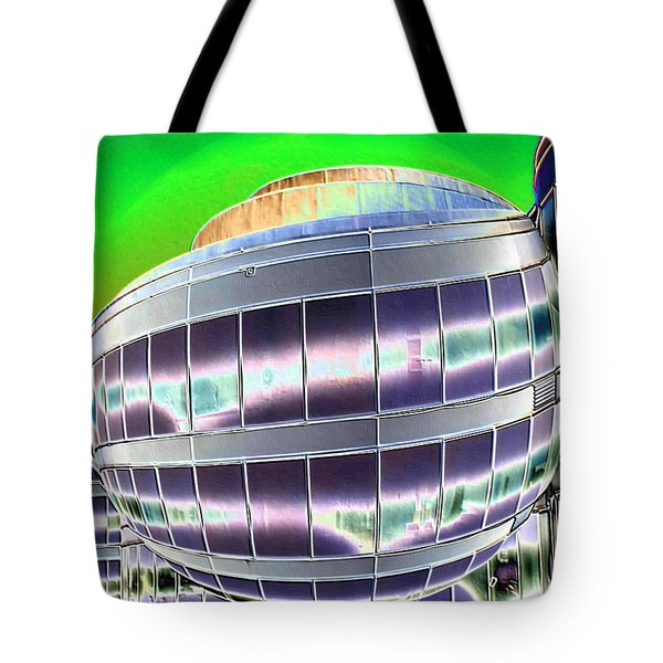 Future Office Space Tote Bag by Carol Groenen
