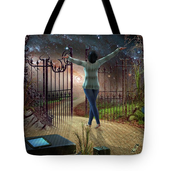 Future Road Tote Bag by Shadowlea Is