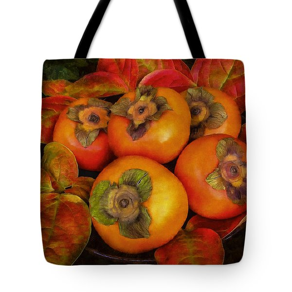 Fuyu Persimmons Tote Bag