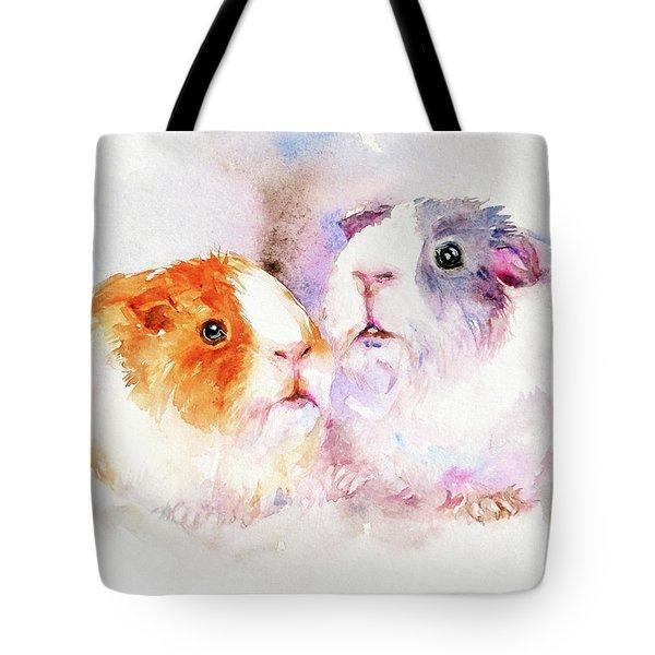 Fuzzy Buddies Tote Bag