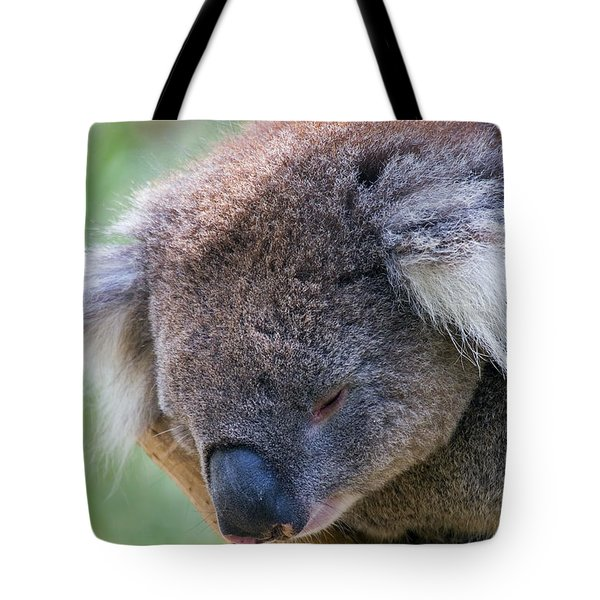 Fuzzy Tote Bag by Mike  Dawson