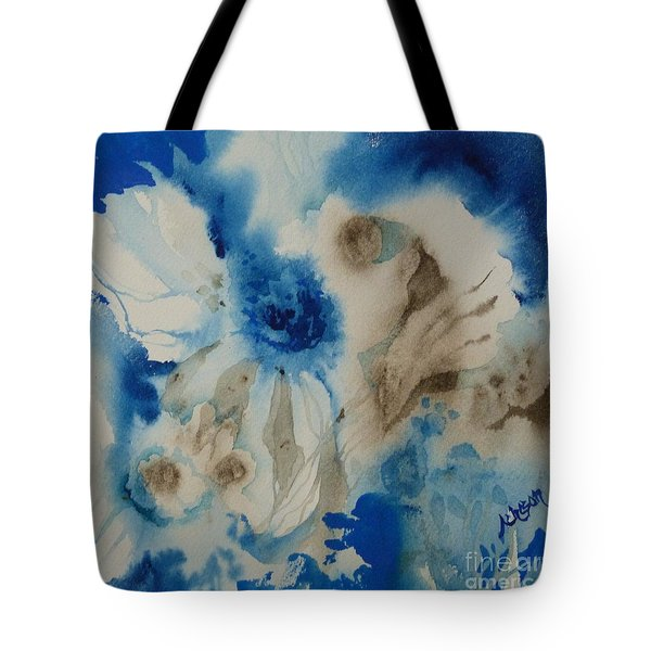 Fuzzy Things Tote Bag by Donna Acheson-Juillet