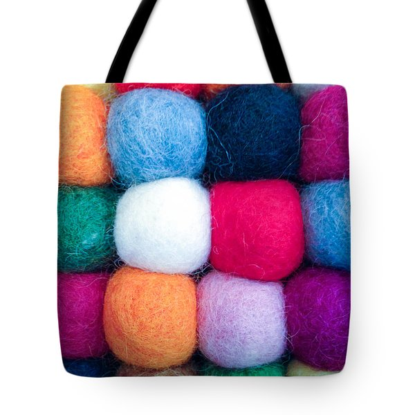 Fuzzy Wuzzies Tote Bag