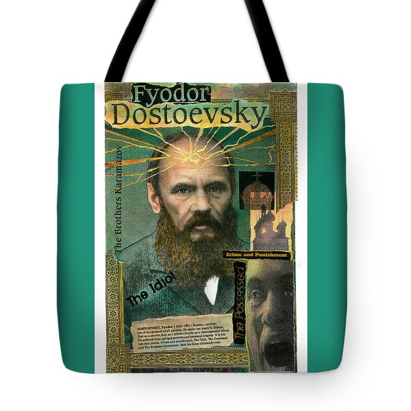 Fyodor Dostoevsky Tote Bag