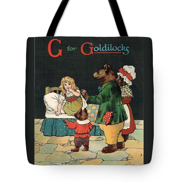 G For Goldilocks Tote Bag