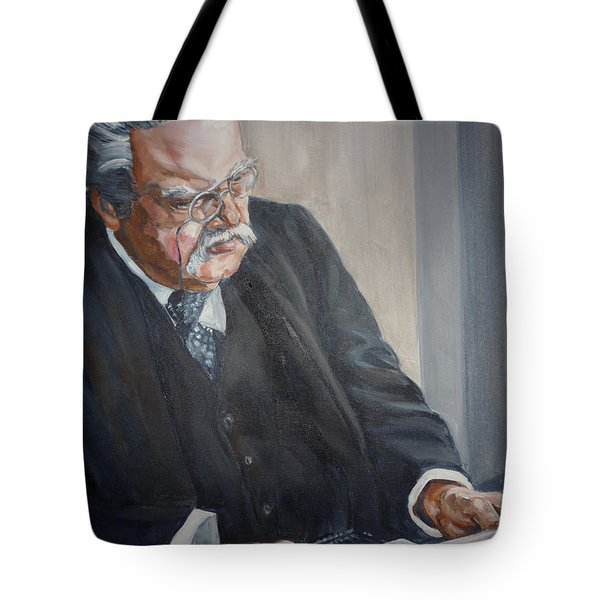 G K Chesterton Tote Bag