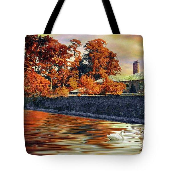English Autumn Tote Bag