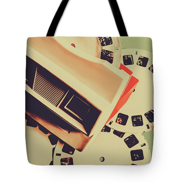 Gadgets Of Nostalgia Tote Bag