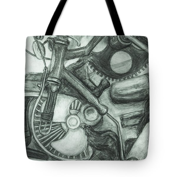 Gadgets Of Sorts Tote Bag