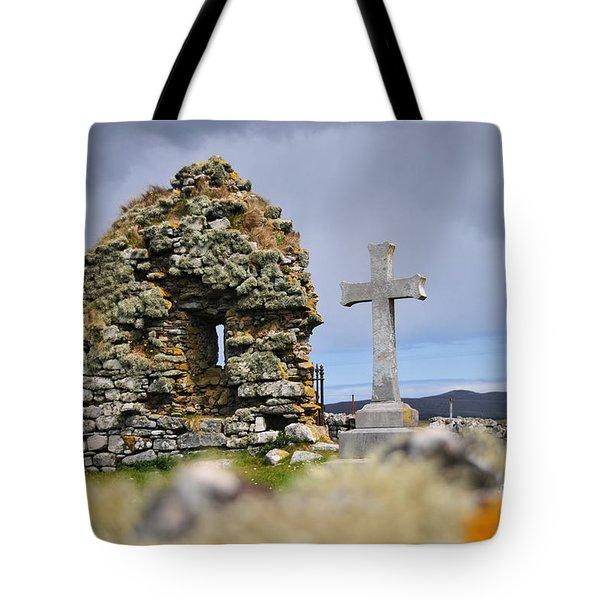 Gaelic Headstone Tote Bag