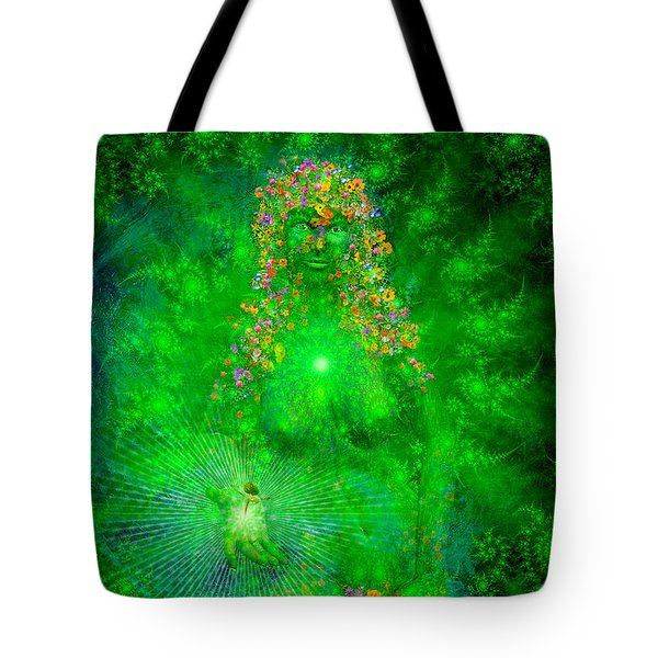 Gaia Tote Bag by Robby Donaghey