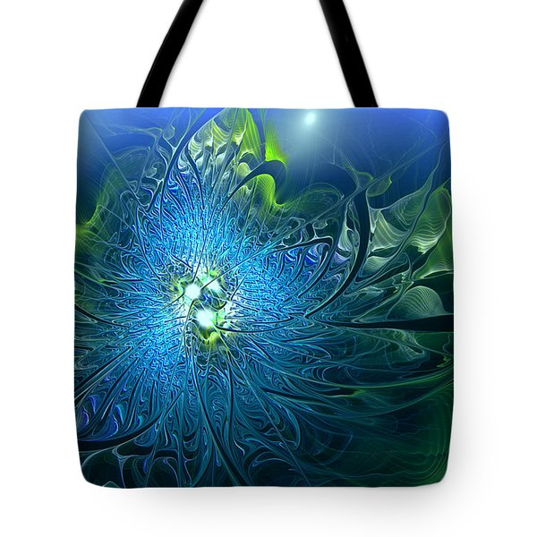 Gaia's Emergence Tote Bag by Casey Kotas
