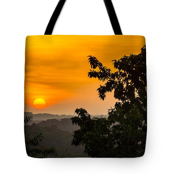 Gainesville Sunrise Tote Bag by Michael Sussman