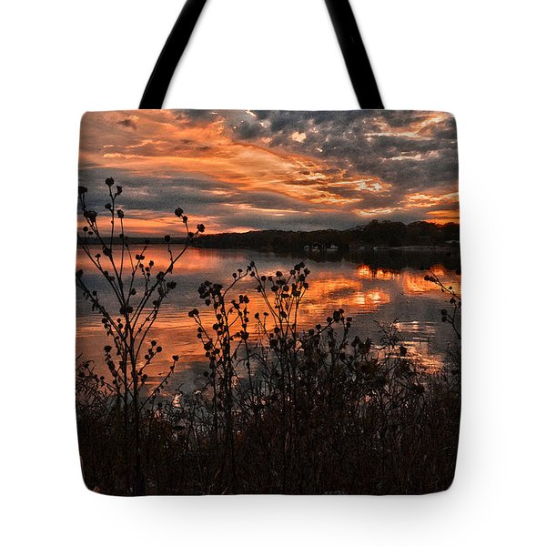 Gainesville Sunset 2386w Tote Bag