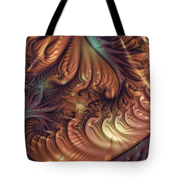 Tote Bag featuring the digital art Gala by Michelle H