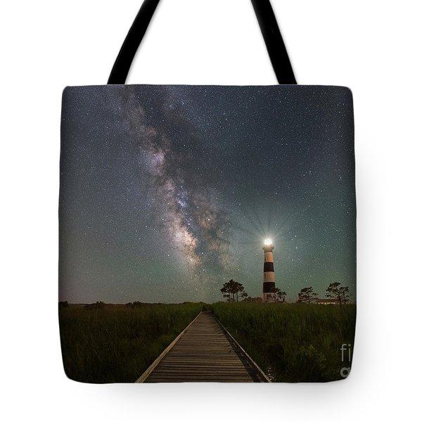 Galactic Beacon   Tote Bag