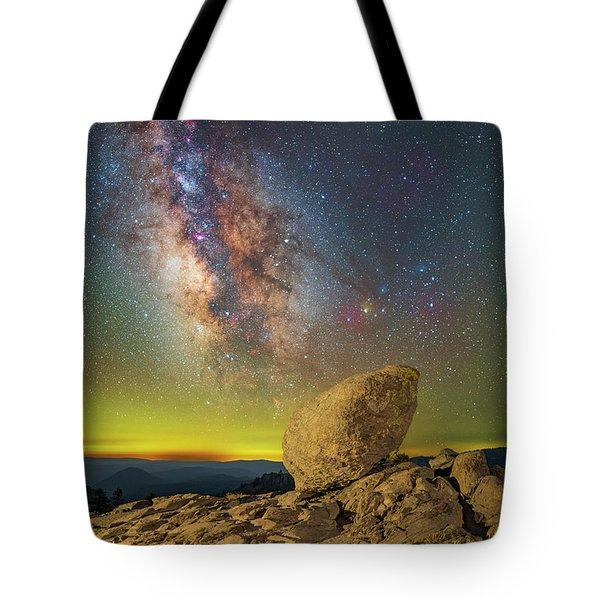 Galactic Erratic Tote Bag