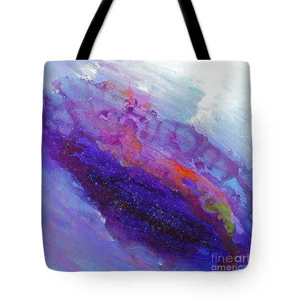 Fantasies In Space Series Painting. Galactic Inspirations. Abstract Painting Tote Bag