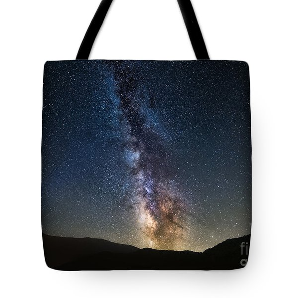 Galactic Rise Tote Bag by Anthony Heflin
