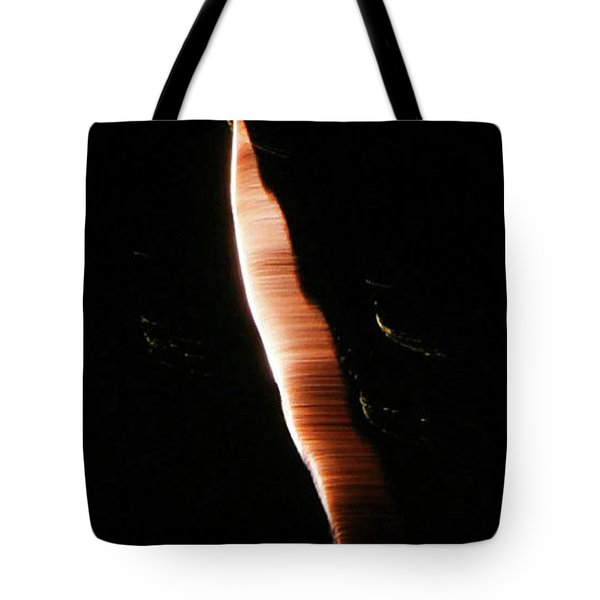 Tote Bag featuring the photograph Galactic Tapeworm by Sally Sperry
