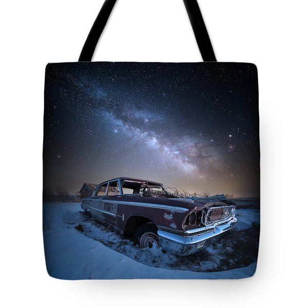 Tote Bag featuring the photograph Galaxie 500 by Aaron J Groen
