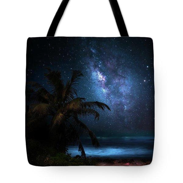 Galaxy Beach Tote Bag