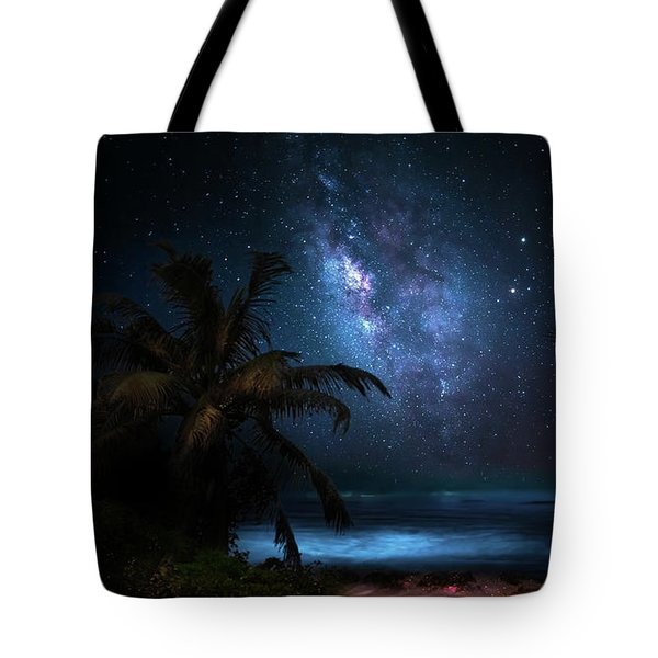 Galaxy Beach Tote Bag by Mark Andrew Thomas