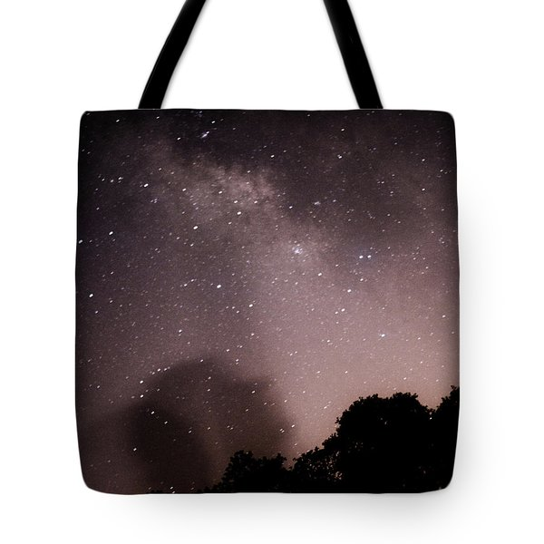 Galaxy Beams Me Tote Bag