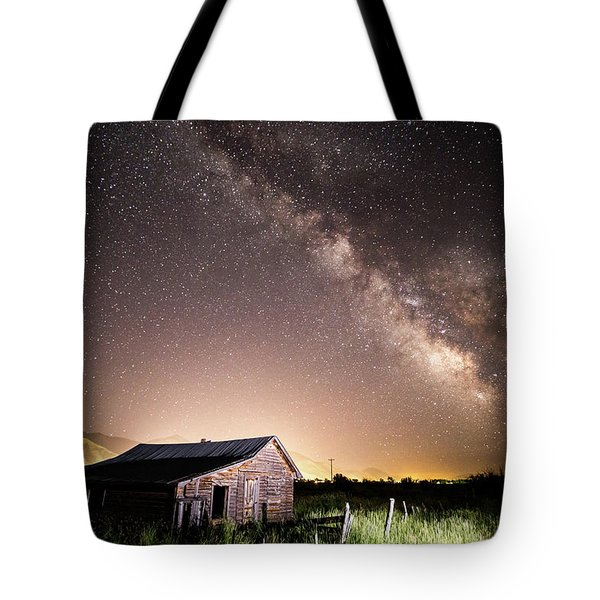 Galaxy In Star Valley Tote Bag