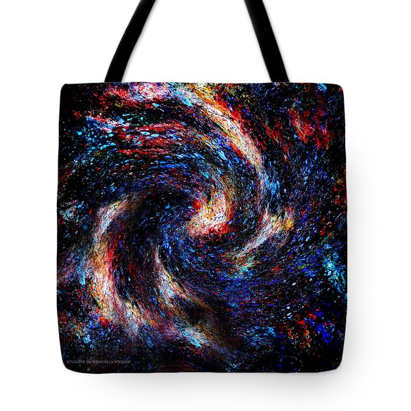 Galaxy Tote Bag by Jennifer Godshalk