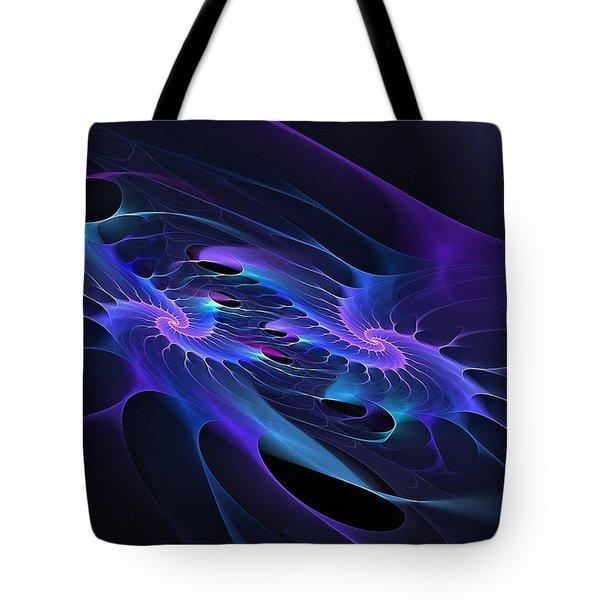 Galaxy Merger Tote Bag