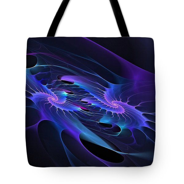 Galaxy Merger Tote Bag