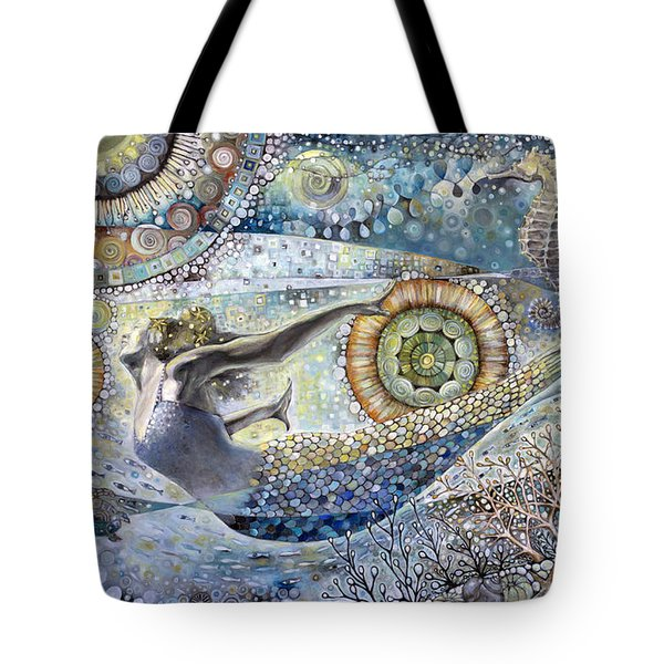 Galaxy Of Love Tote Bag