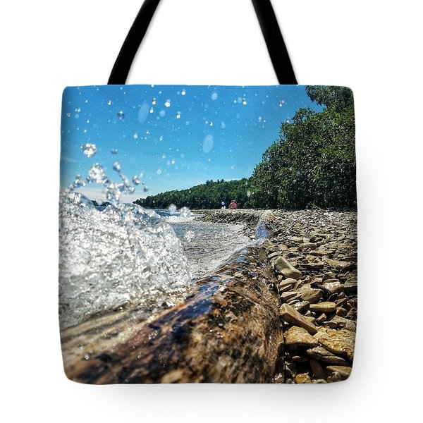 Galaxy Splash Tote Bag