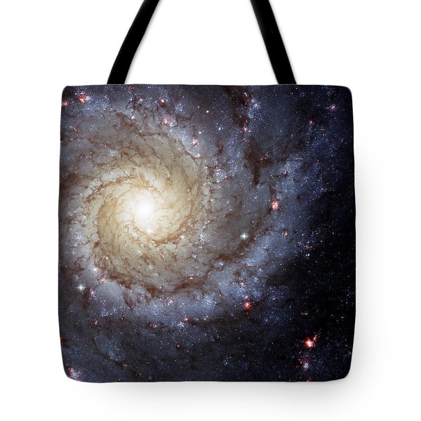 Galaxy Swirl Tote Bag by Jennifer Rondinelli Reilly - Fine Art Photography