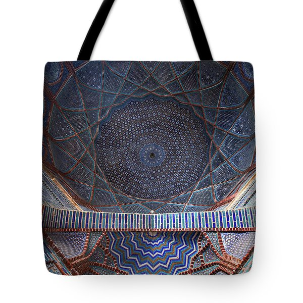 Galaxy Under The Dome Tote Bag