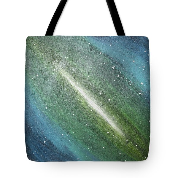 Galaxy's Eye Tote Bag by Cyrionna The Cyerial Artist