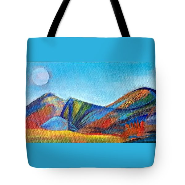 Galaxyscape Tote Bag by Elizabeth Fontaine-Barr
