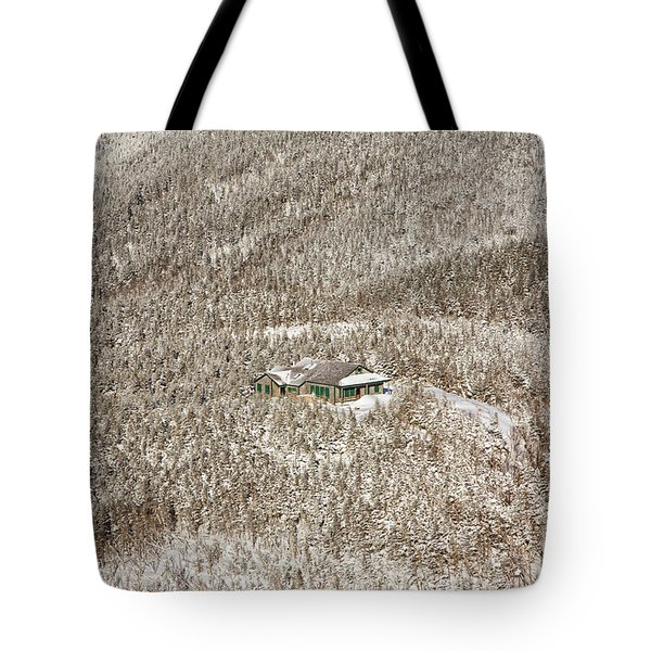 Galehead Hut - White Mountains New Hampshire  Tote Bag