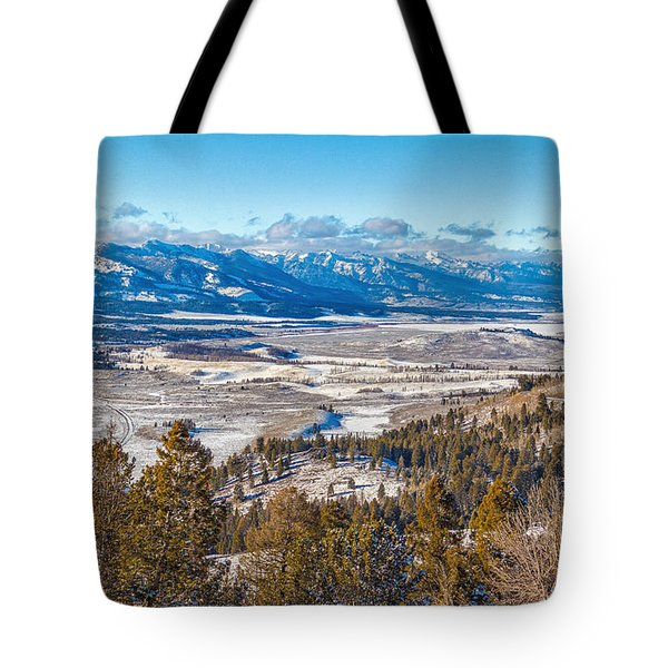 Tote Bag featuring the photograph Galena Summit Idaho by Michael Rogers