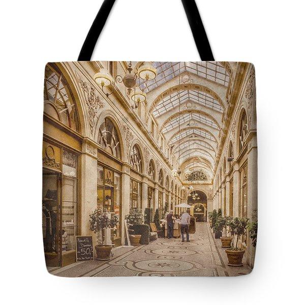 Paris, France - Galerie Vivienne Tote Bag