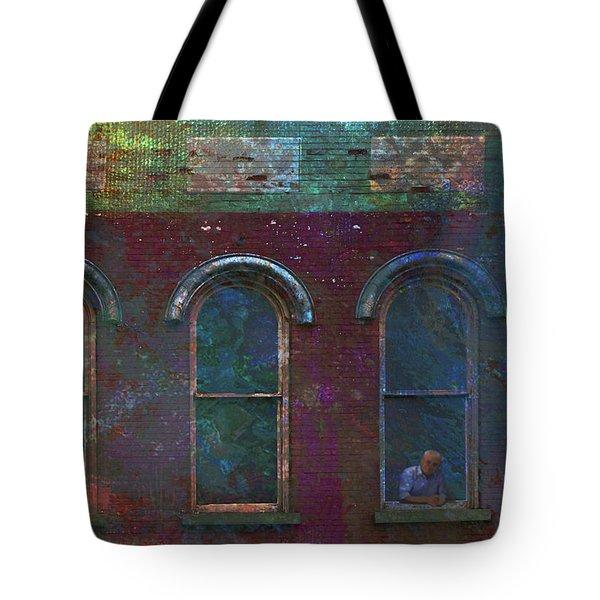 Galesburg Windows 2 Tote Bag